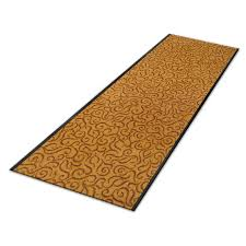 kitchen carpet runner brasil design terracotta custom size