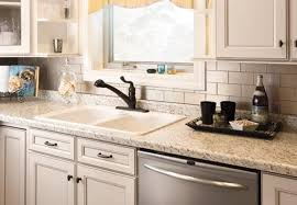 sticky backsplash for kitchen modern kitchen ideas with white subway self stick tile backsplash
