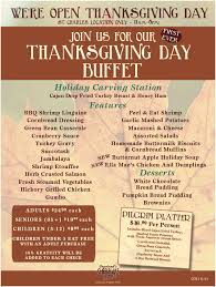 need a restaurant for thanksgiving check out these menus