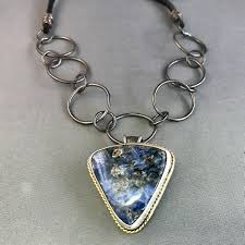 stone silver necklace images Tiffany stone silver and gold necklace wendy kay designs jpg