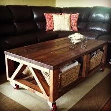 Rustic Coffee Table On Wheels Rustic Coffee Table On Wheels Best Ideas About Coffee Table