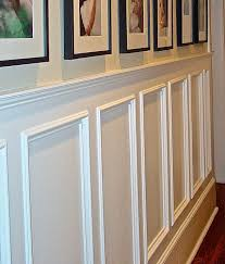 wainscot run some on your walls