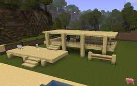 wood lego house minecraft modern wood house trendy minecraft tutorial how to