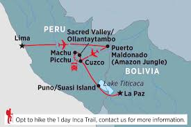 Peru South America Map by South America Tours U0026 Travel Peregrine Adventures Us