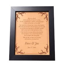 engraved anniversary gifts wedding vows engraved on leather leather anniversary gift 3rd