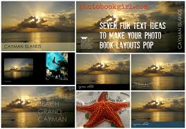 photography book layout ideas seven fun text ideas to make your photo book layouts pop