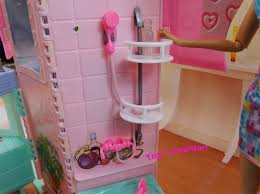 Dolls House Bathroom Furniture New Arrival Children Birthday Gift Play Doll House