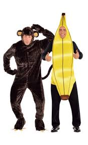 Banana Halloween Costume Monkey Banana Couples Costumes Party Canada