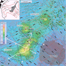 Map Of Pacific Ocean Tamu Massif Largest Volcano On Earth Discovered Beneath Pacific