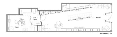 clinic floor plan gallery of eye eye care and clinic best practice architecture 13
