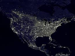 lights of the world address the night lights of the united states as seen from space flickr