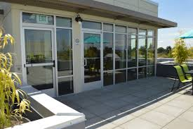 store front glass doors storefront contractors kb glass and metal