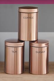 copper kitchen canisters copper is the trend of the year and we are absolutely loving it