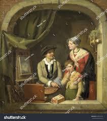 a painter becoming painter jeanbaptiste van eycken 182527 stock illustration