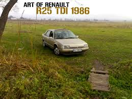 renault 25 renault 25 2 1 tdi fishing by siropo on deviantart