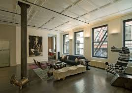 Loft Style Living Room Marvelous New York Style Living Room Comfortable Living Rooms Tiny
