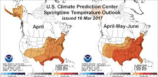 Weather Map For United States by Weather Outlook Could Be Game Changer For U S Corn Soy Planting