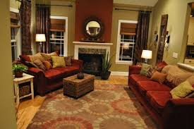 red and brown living room designs home conceptor cozy open concept living living room designs decorating ideas