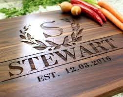 cutting board with recipe engraved personalized cutting board custom cutting board engraved