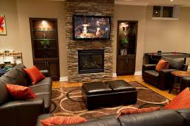 Hg Living by Living Room With Fireplace And Tv On Different Walls Datenlabor Info