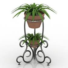 flower stand house plants 3d models flower stand n050713 3d model gsm