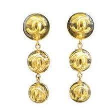 1970s earrings 1970s large chanel cameo earrings for sale at 1stdibs