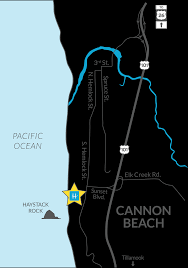 Map Of Seaside Oregon by Cannon Beach Hotels Oregon Coast Hotel Lodging