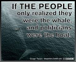 Boat People Meme - if the people only realized they were the whale and politicians were