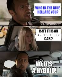 Hybrid Car Meme - the rock s car is the peoples car imgflip