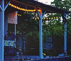 Pergola Lanterns by Solar Powered String Lanterns 20 Led