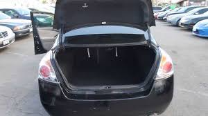 altima nissan 2009 2009 nissan altima black stock l470224 trunk and engine