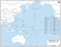 East China Sea Map Two Maps Of The Far East And The Pacific 1941
