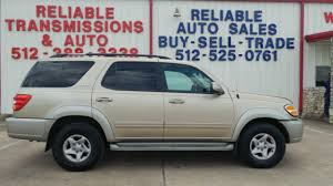 toyota sequoia reliability 2002 toyota sequoia sr5 for sale in tx from reliable auto