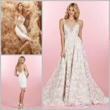 wedding dress sheer straps 2015 lace wedding dresses with lace detachable skirt floral sheer