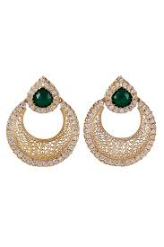 chandbali earrings filigree chand bali earrings fashionable earrings designer