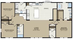 Titan Mobile Home Floor Plans Titan 720 Titan Homes Champion Homes