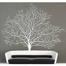white birch tree wall decal branch forest decals large tree wall