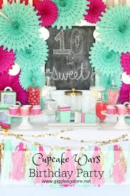 wars birthday party ideas cupcake wars birthday party