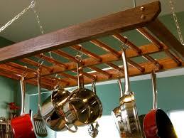 how to build a hanging pot rack how tos diy
