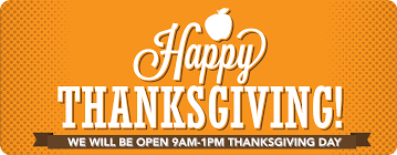 ozark foods why are we open on thanksgiving