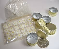 foil candy cups not martha to make really tiny cupcake