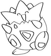 pokemon coloring pages togepi how to draw togepi learn to draw a togepi and other pokemon step