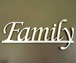 unfinished family wall plaque crafty mind designs