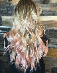 rose gold lowlights on dark hair 23 trendy rose gold hair color ideas page 2 of 2 stayglam