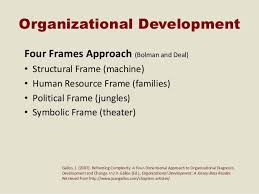 bolman and deal four frames four frames leadership study group suny libs assn 2011
