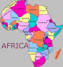 map of africa with country names names of all the countries com image results all