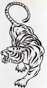tribal tiger design by smp kitten ninjutsu tribal