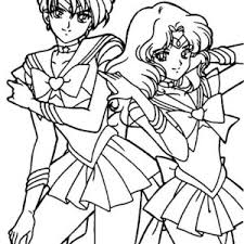 sailor jupiter sailor mars sailor moon coloring