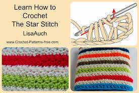 Crochet Pattern Using Star Stitch | how to crochet the star stitch and crochet a warm cosy blanket