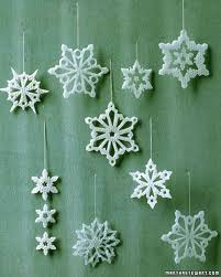 snowflake decorations martha stewart